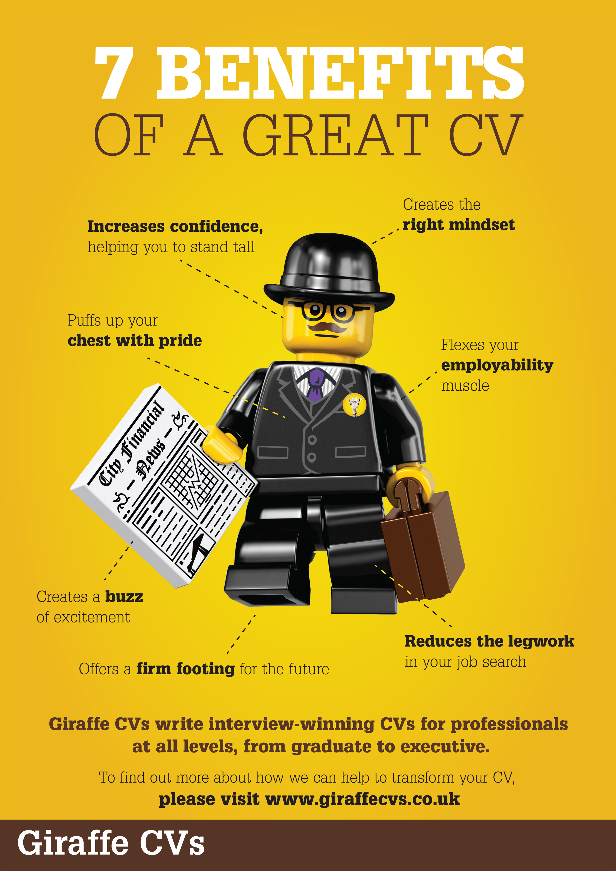 seven benefits of a great cv