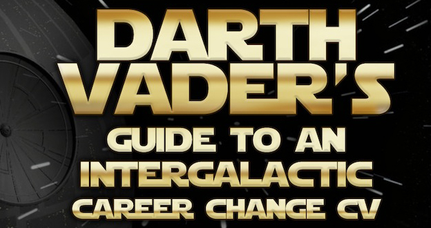 Darth Vader's CV for a meteoric career change Infographic