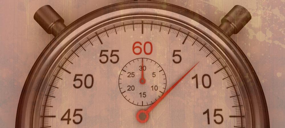 Nine things that take less than nine seconds