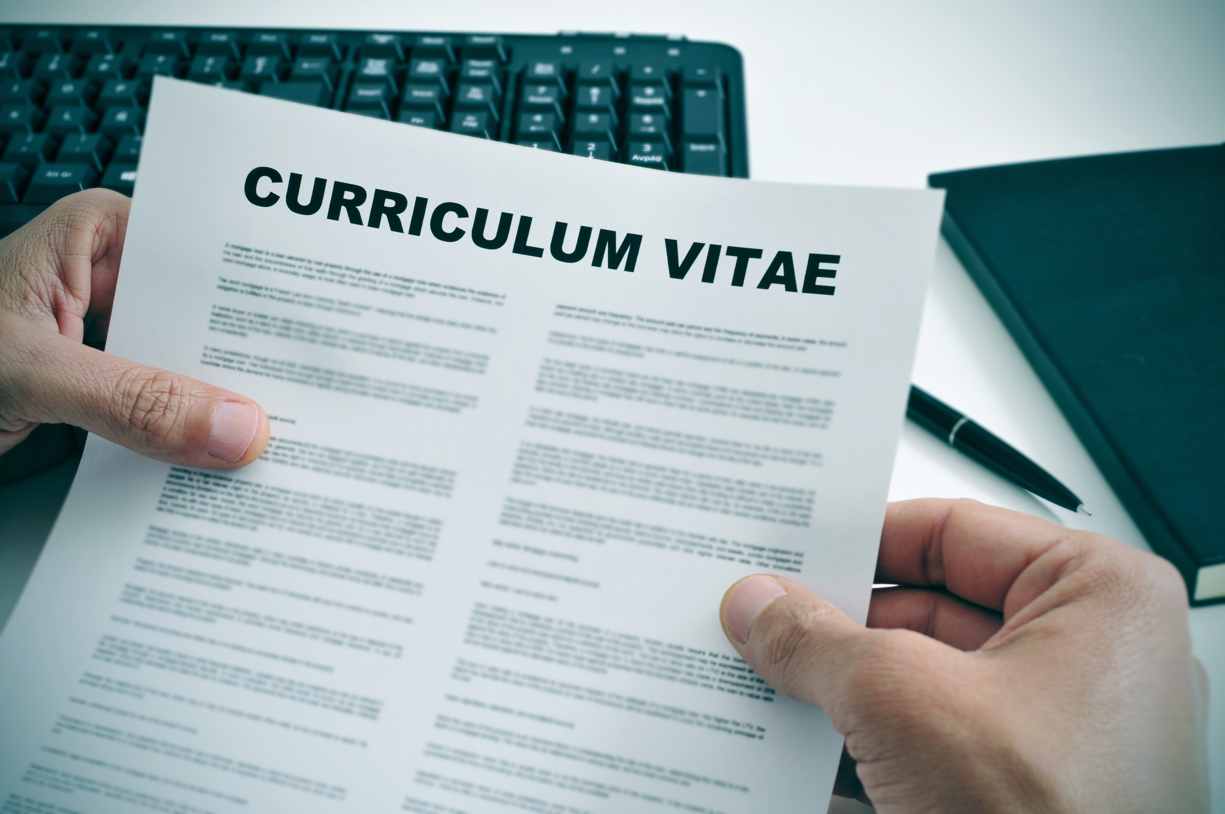 Curriculum Vitae of the CV