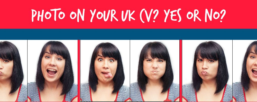 Photo on your UK CV? Yes or no?